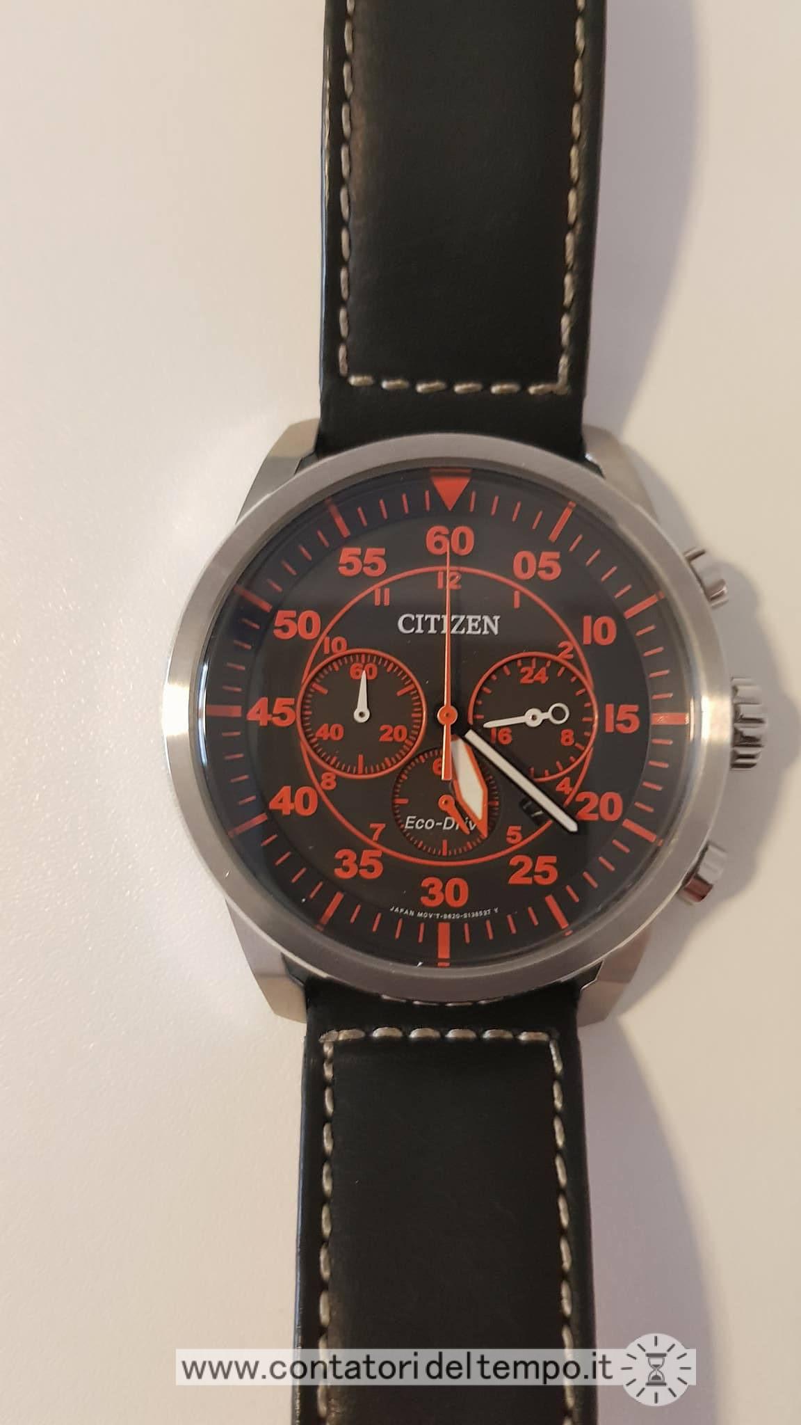 comprare popolare 4a239 76afc Citizen Crono Aviator CA4210-08E ⋆ Recensione