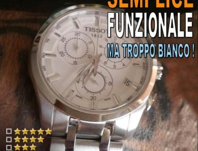 Tissot Couturier cronografo al quarzo T0356171103100