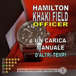 Hamilton Khaki Field Officer a carica manuale [referenza h69619533]