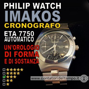 Philip Watch Imakos crono automatico