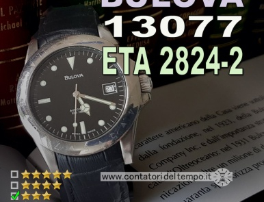 Bulova Automatico 100 Metri, Ref. 13077