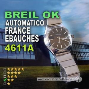 Breil OK, France Ebauches 4611A