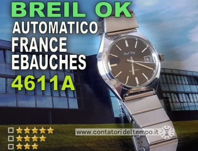 Breil Okay, France Ebauches 4611A