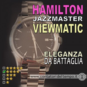 Hamilton Jazzmaster Viewmatic referenza 32665131