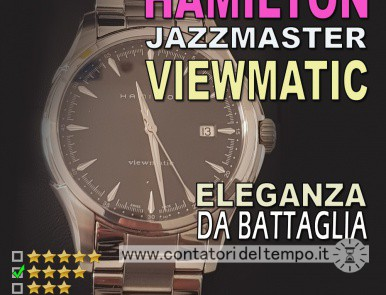 Hamilton Jazzmaster Viewmatic referenza H32665131