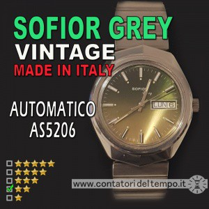 Sofior Grey vintage automatico AS 5206