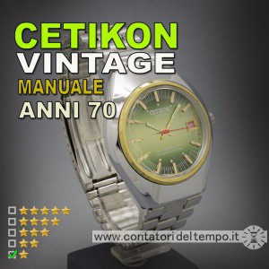 Cetikon a carica manuale PG time ltd