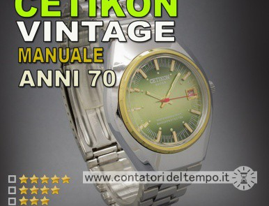 Cetikon Super a carica manuale PG time ltd