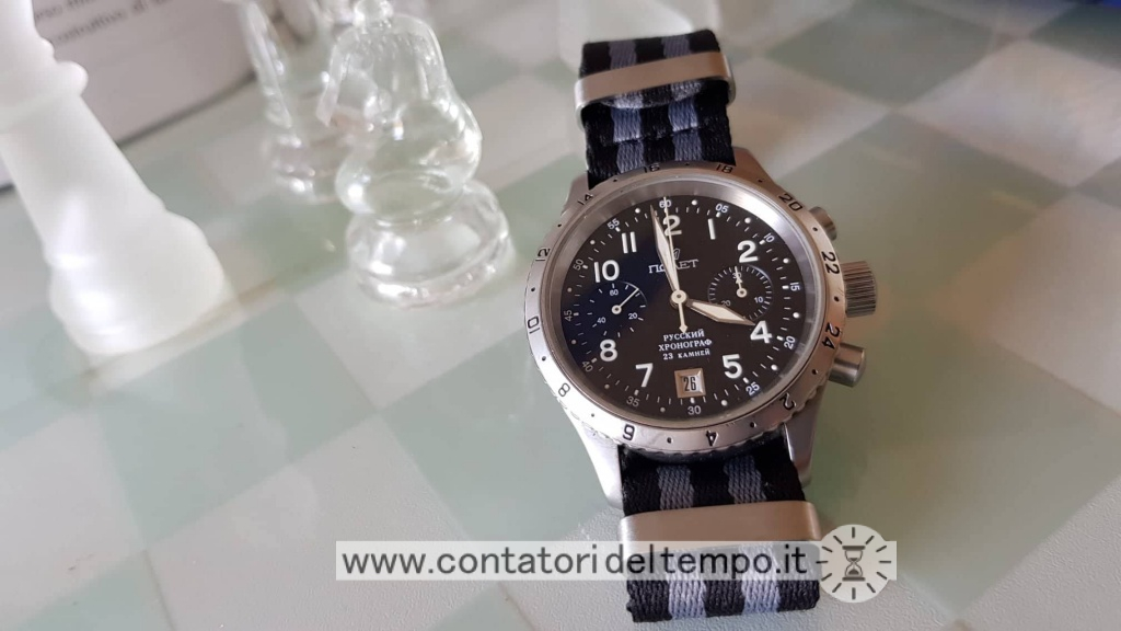 Poljot Flight Chronograph, 3133/2543002 calibro 3133