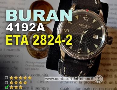 Buran 4192A, automatico ETA 2824-2
