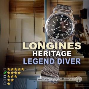 Longines Heritage Legend Diver L3.674.4.50.6