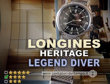 Longines Heritage Legend Diver