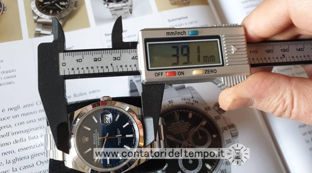 Diametro lunetta del Rolex 126300
