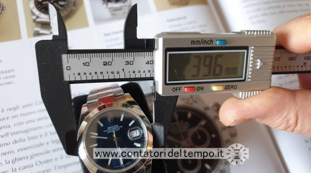 Diametro cassa del Rolex 126300