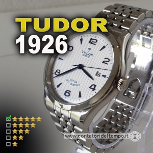 Tudor 1926, diametro 39 mm e quadrante bianco