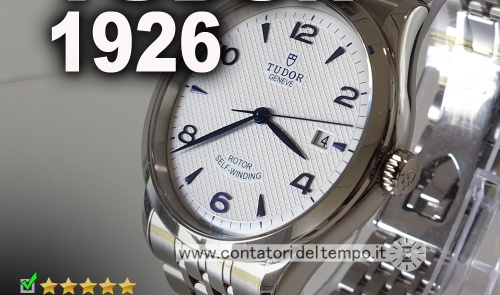 Tudor 1926, quadrante bianco e diametro 39 mm referenza 91550