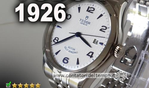 Tudor 1926, quadrante bianco e diametro 39 mm referenza 91550