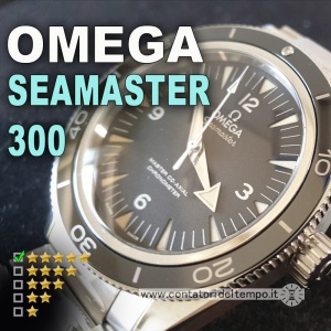 Omega Seamaster 300 Master Co-Axial 233.30.41.21.01.001 recensione