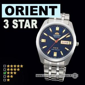 Orient 3 Star ref. RA-AB0019L19B - recensione