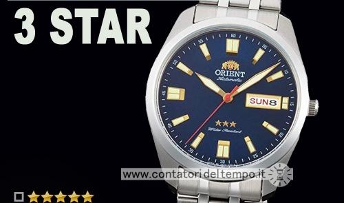 Orient 3 Star ref. RA-AB0019L19B – recensione