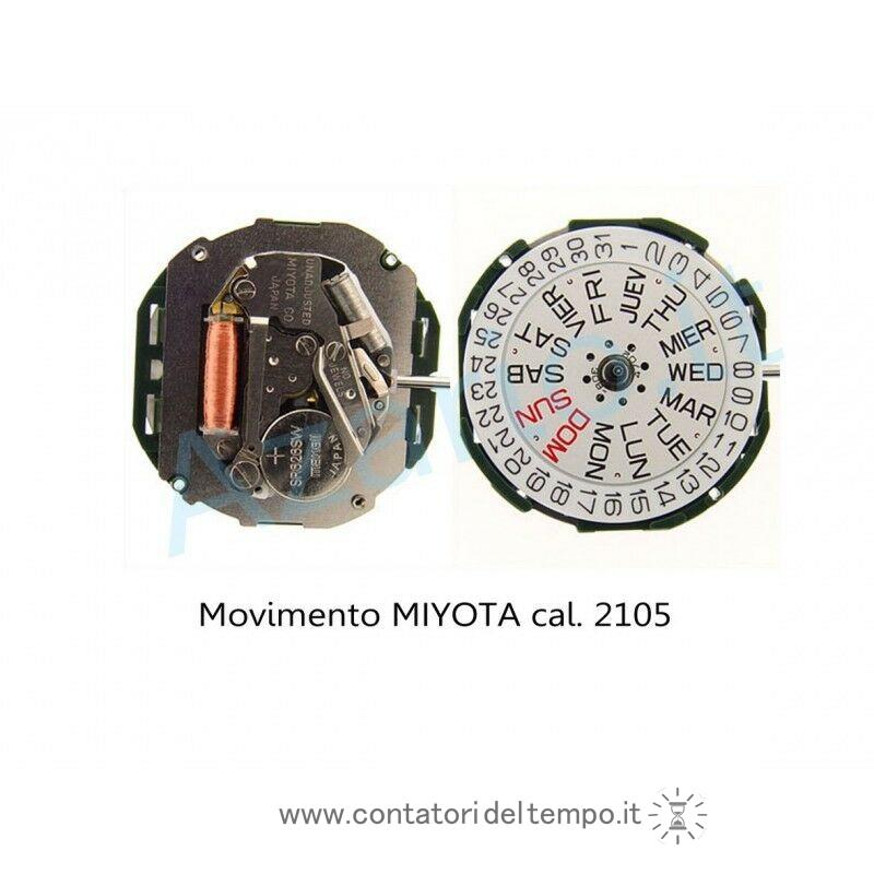 Movimento al quarzo Miyota 2105
