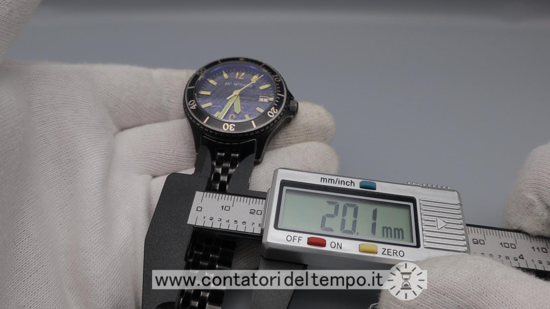 James Mc Cabe Baja Diver Automatic