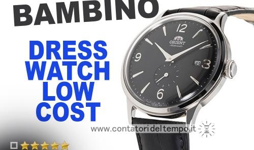 Orient Bambino small seconds – RA-AP0005B10B – recensione