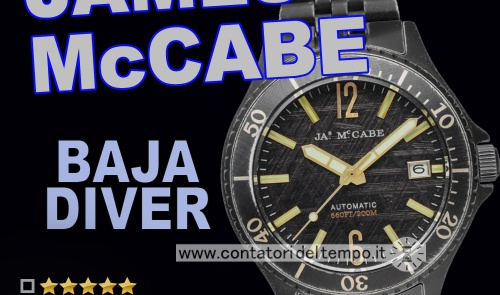 James Mc Cabe Baja Diver Automatic