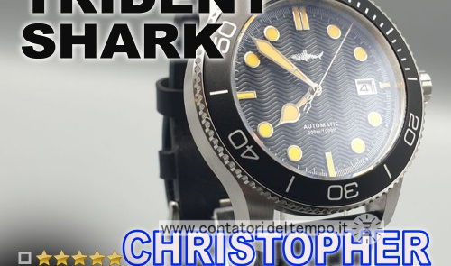 Heimdallr Trident Shark – Homage al Christopher Ward