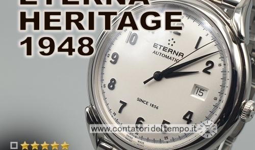 Eterna Heritage 1948 ref. 2955.41.14.1741 recensione